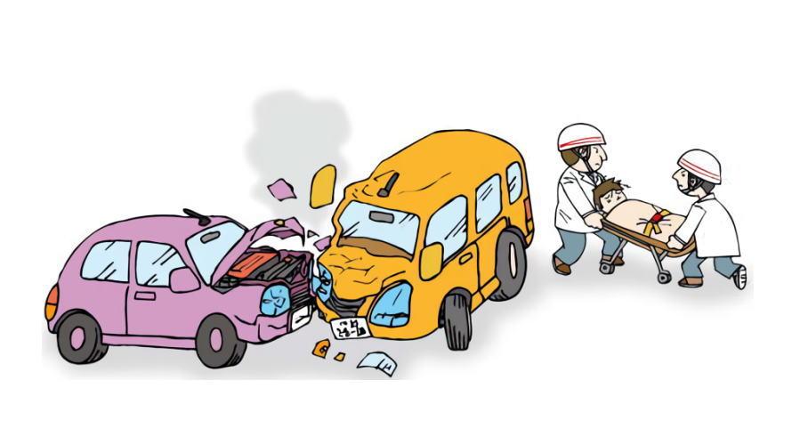 事故で車が全損になった